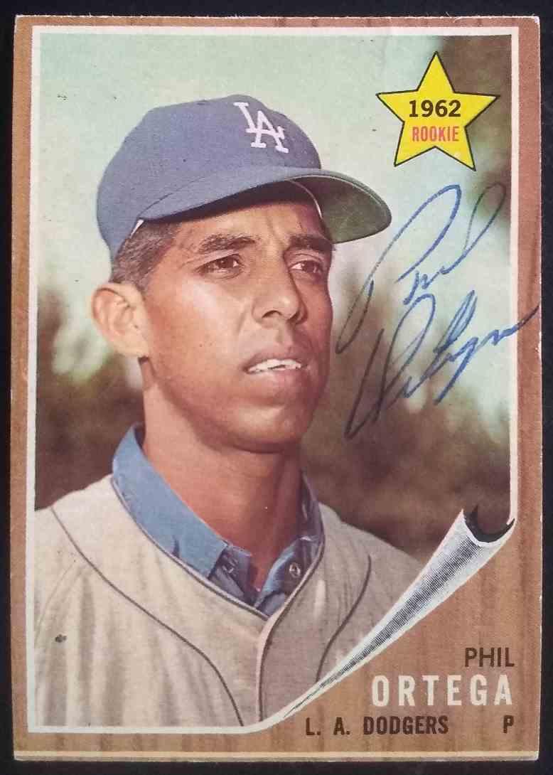 1962 Topps Phil Ortega #69 card front image