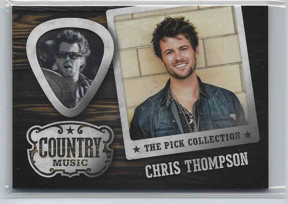 2015 Country Music Pick Collection Chris Thompson #4 card front image