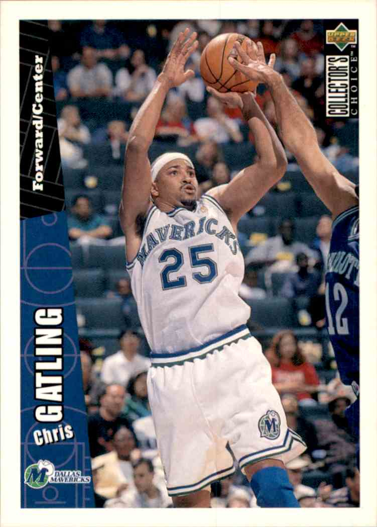 1996-97 Collector's Choice Chris Gatling #228 card front image