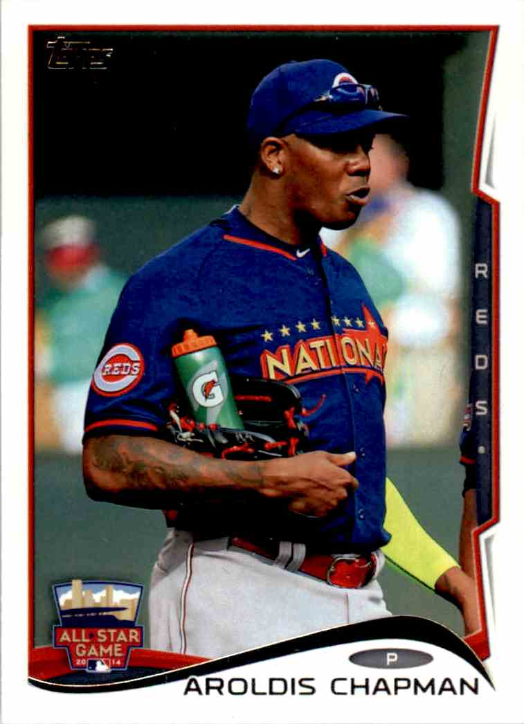 2014 Topps Update Aroldis Chapman ASG #US-288 card front image