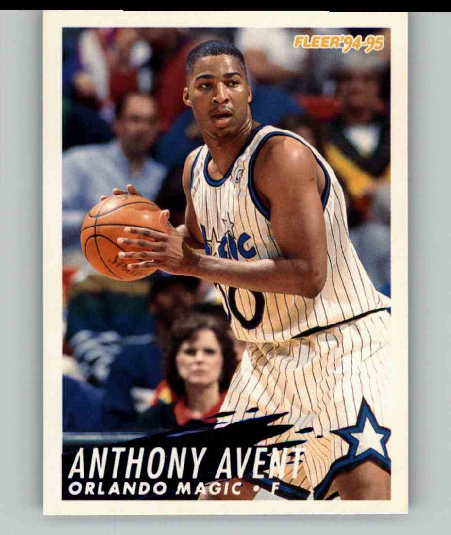 1994-95 Fleer Anthony Avent #158 card front image