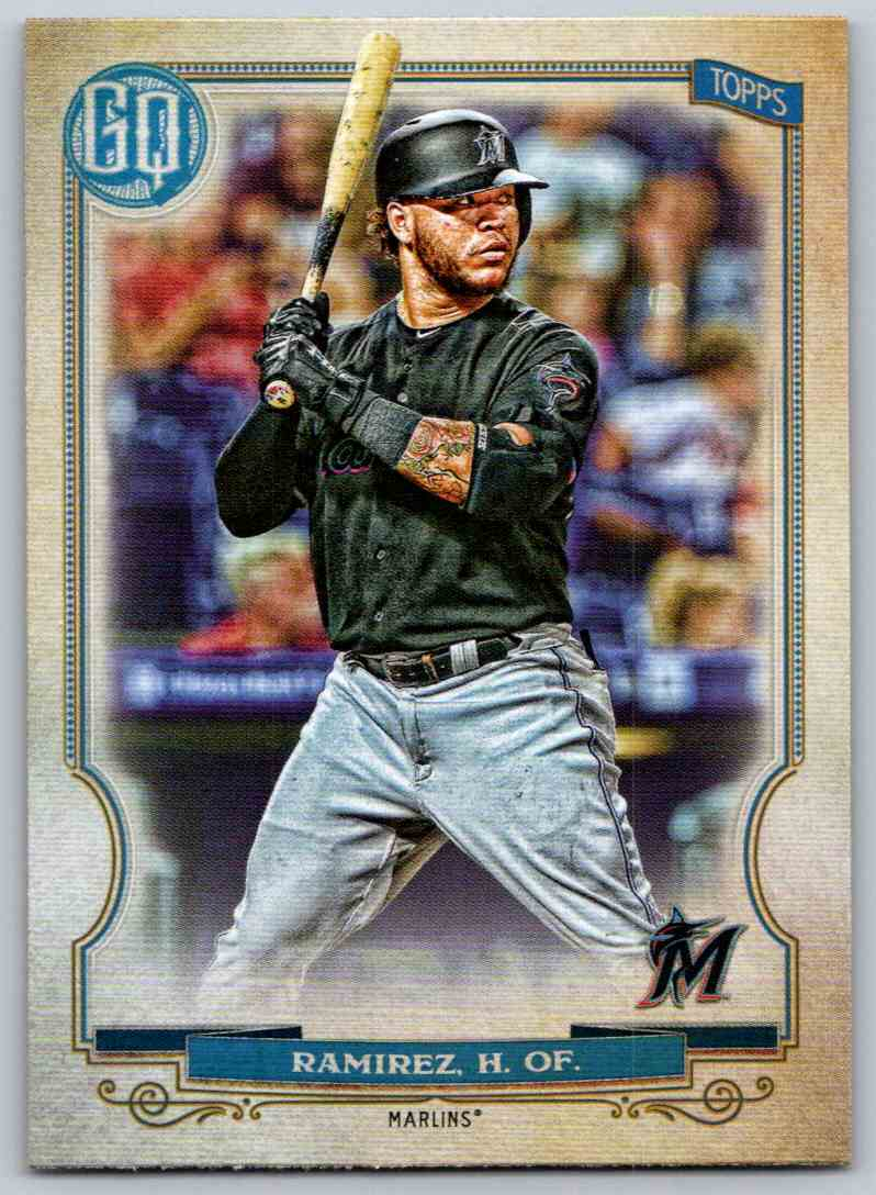 2020 Topps Gypsy Queen Base Harold Ramirez #9 card front image