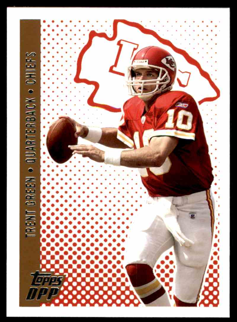 2006 Topps Draft Picks And Prospects Trent Green #23 card front image