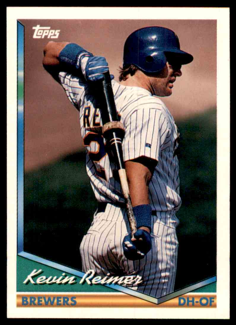 1994 Topps Kevin Reimer #585 card front image