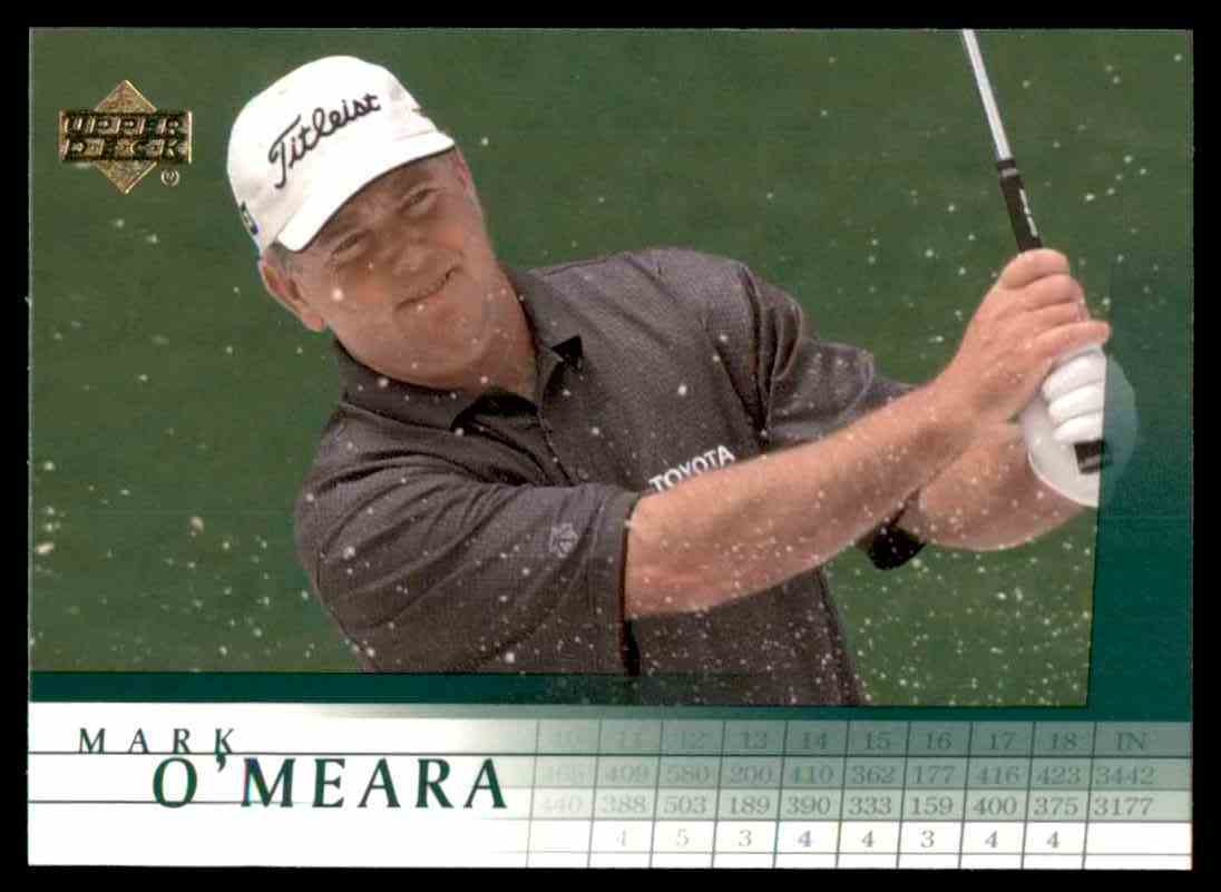 2001 Upper Deck Mark O'Meara #10 card front image