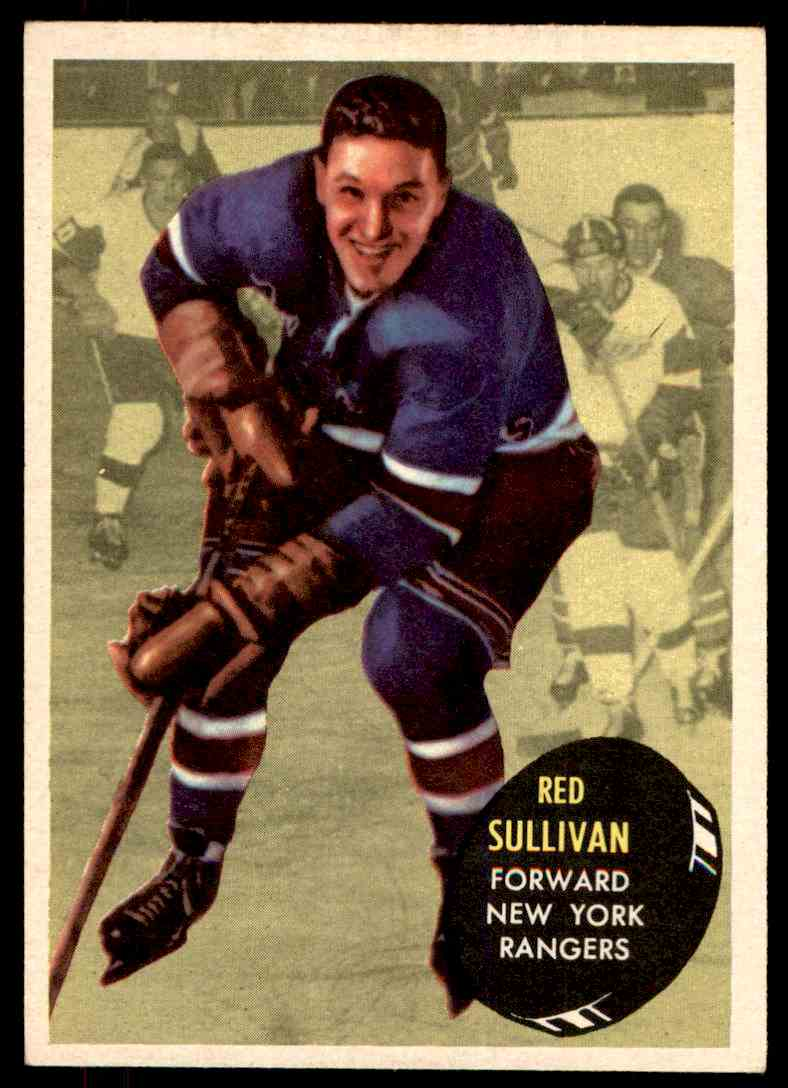1961-62 Topps Red Sullivan #48 card front image