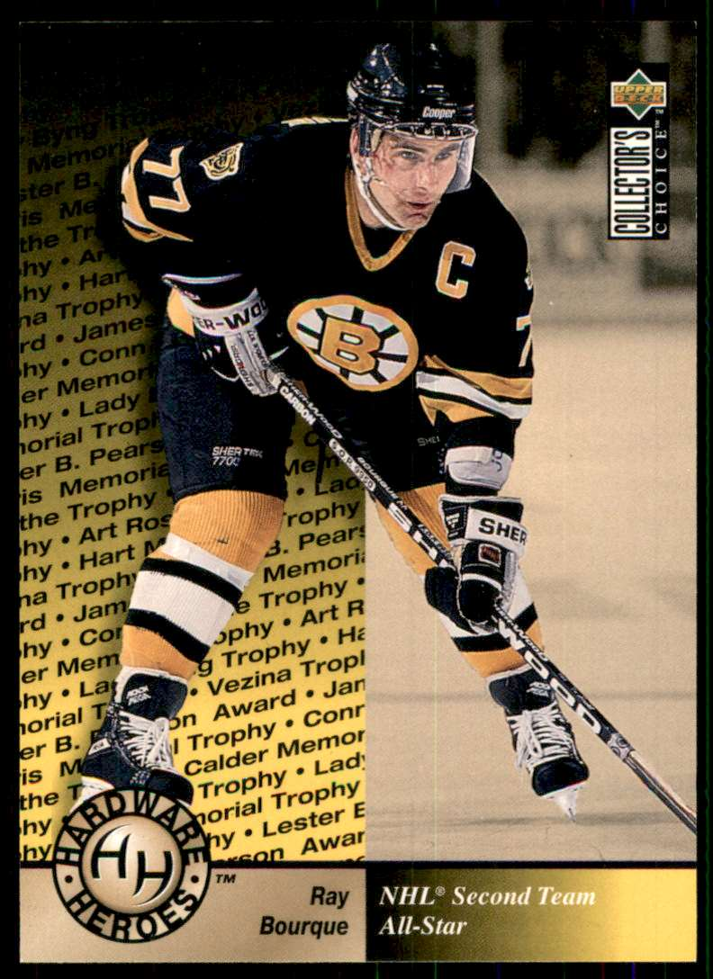 1995-96 Collector's Choice Ray Bourque Hh #385 card front image