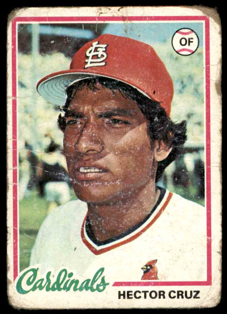 1978 Topps Hector Cruz #257 card front image