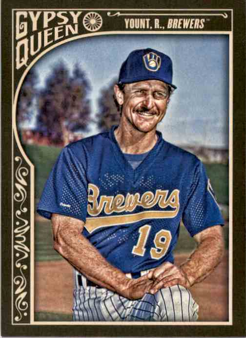 2015 Topps Gypsy Queen Robin Yount #21 card front image