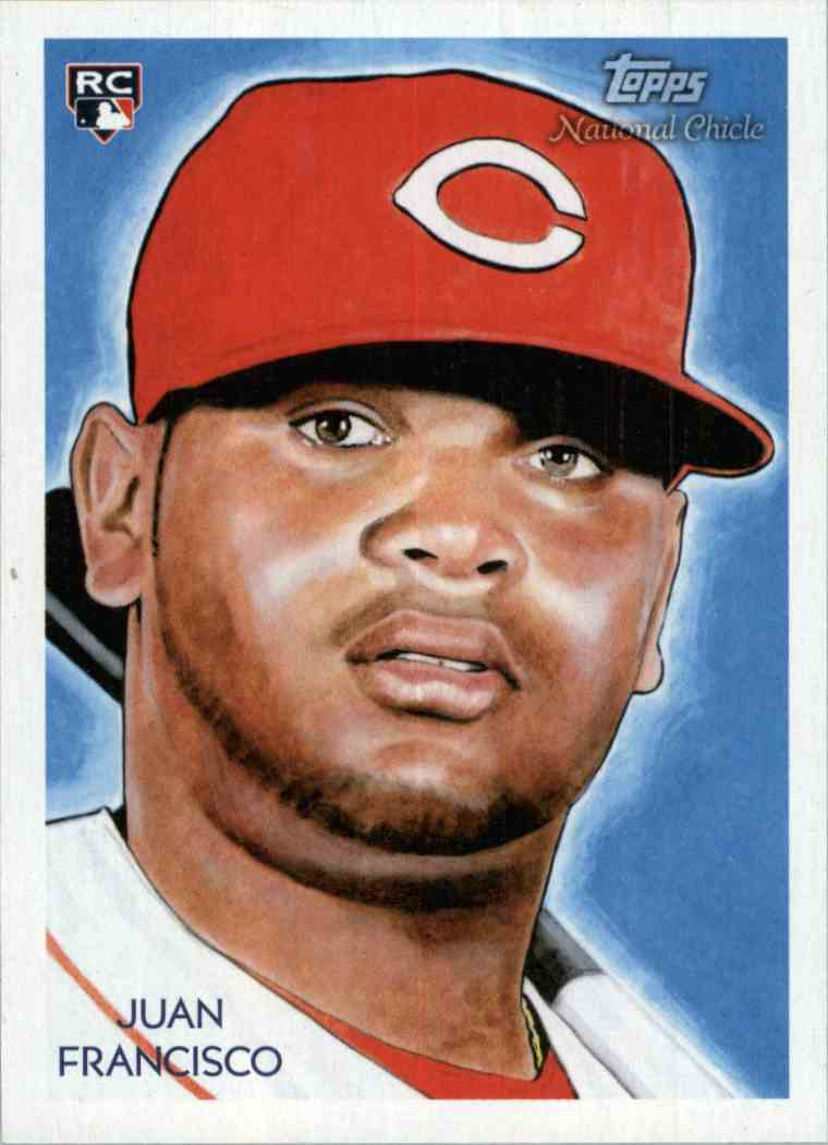 2010 Topps National Chicle Juan Francisco #273 card front image