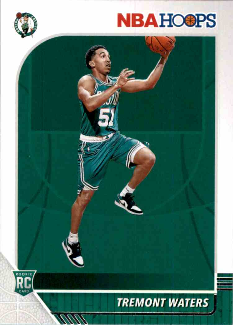2019-20 Hoops Tremont Waters RC #237 card front image