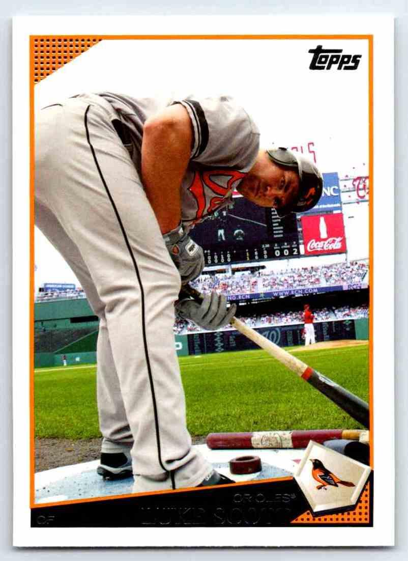 2009 Topps Luke Scott #331 card front image