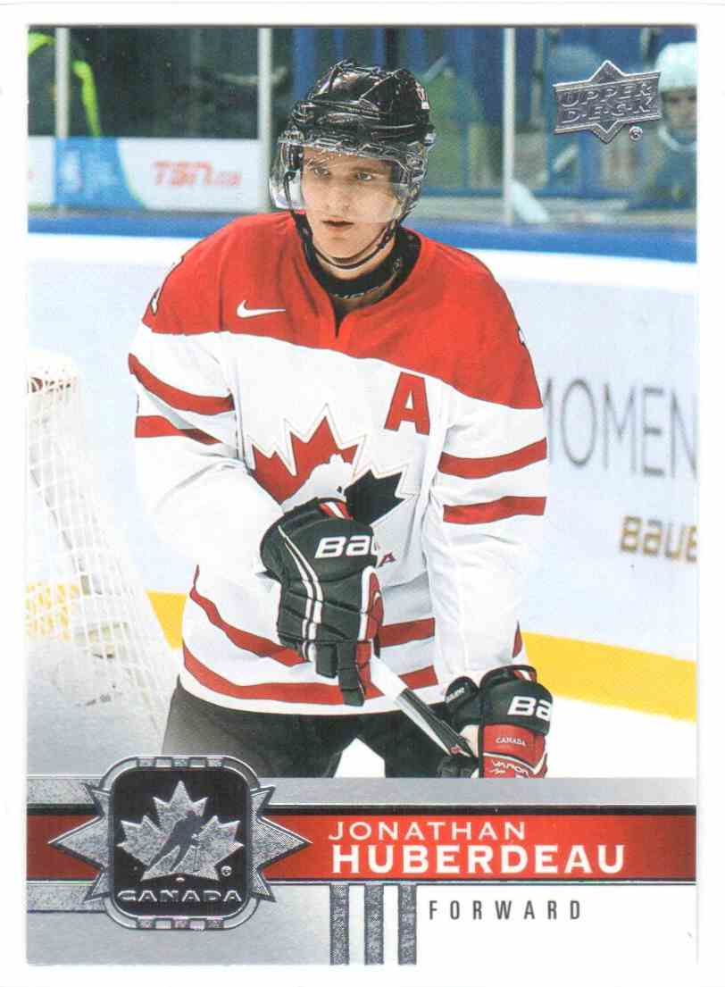 2017-18 Upper Deck Team Canada Canadian Tire Jonathan Huberdeau #51 card front image