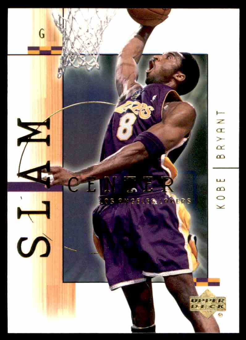 2001-02 Upper Deck Kobe Bryant #1 card back image