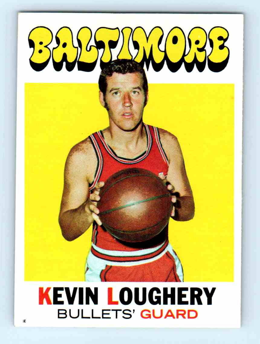 49 Kevin Loughery trading cards for sale
