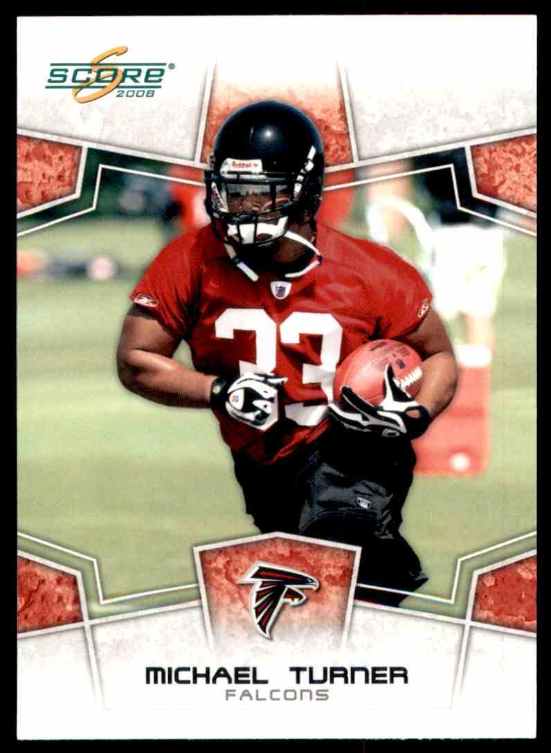 2008 Score Michael Turner #18 card front image