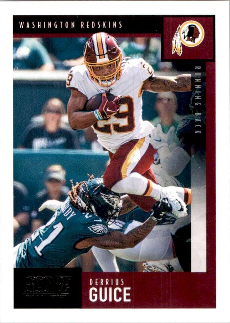 2020 Score Derrius Guice #199 card front image