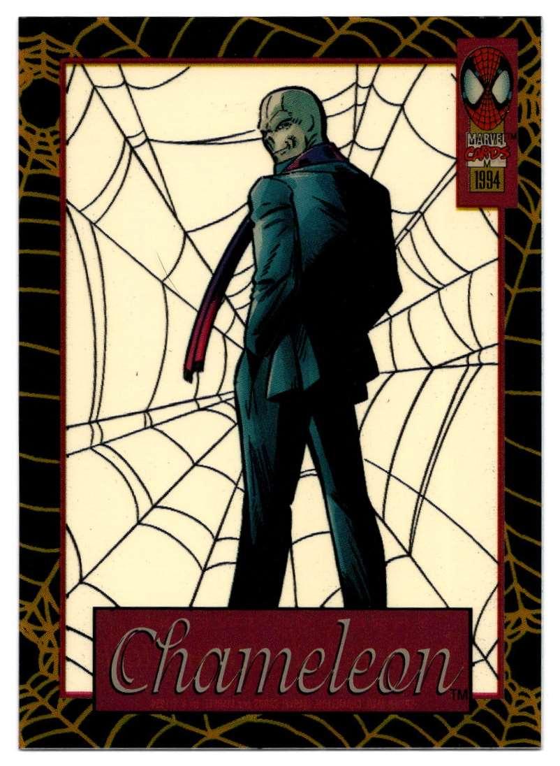 1994 Amazing Spider-Man Suspended Animation Chameleon #3 card front image