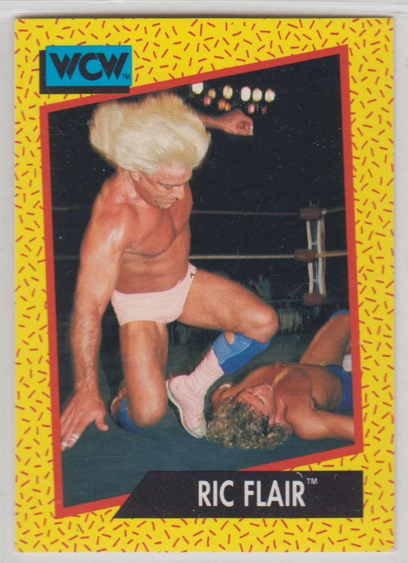 1991 Impel Wcw Ric Flair #41 card front image