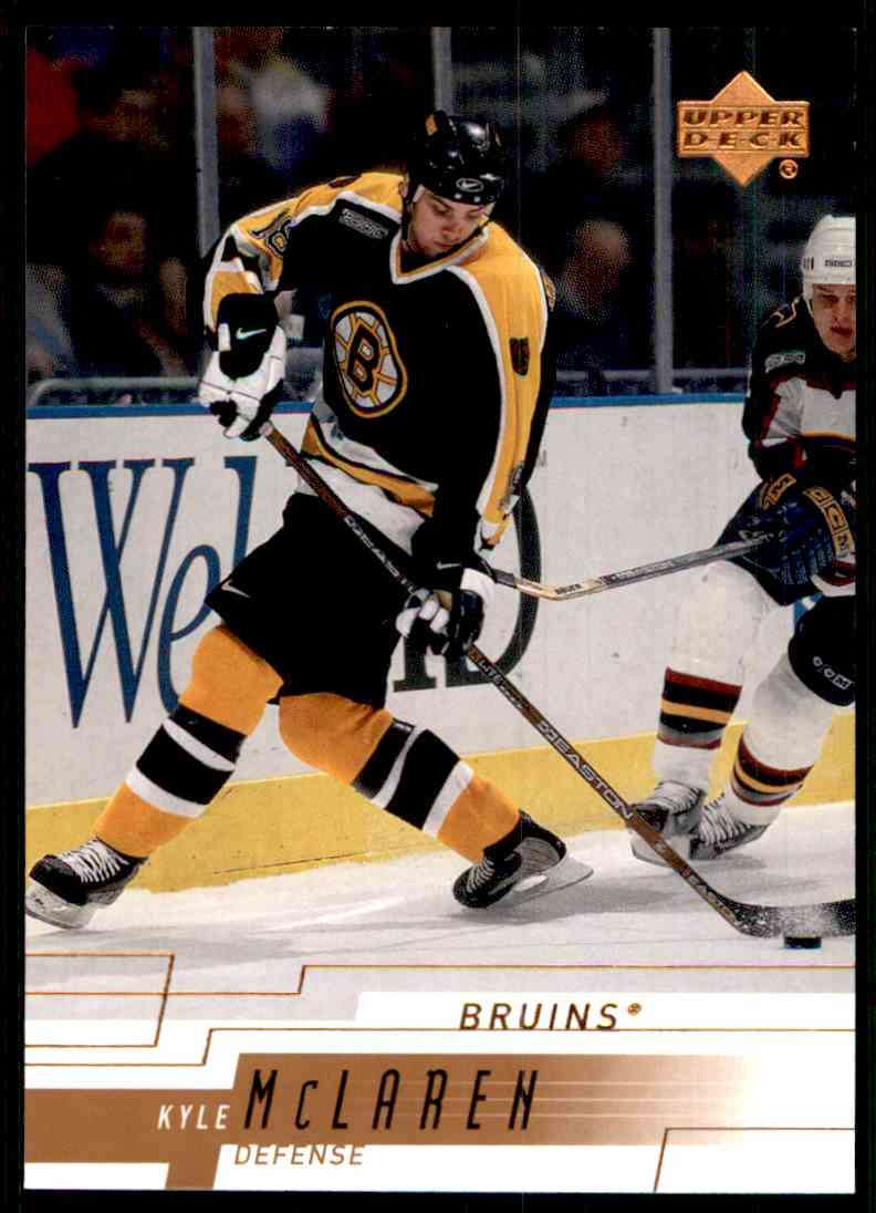 2000-01 Upper Deck Kyle Mclaren #17 card front image