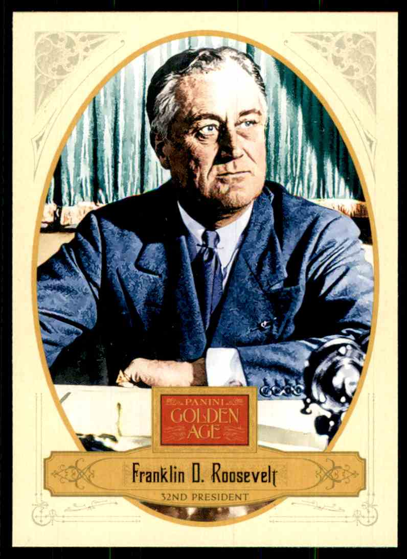 2012 Panini Golden Age Franklin D. Roosevelt #32 card front image