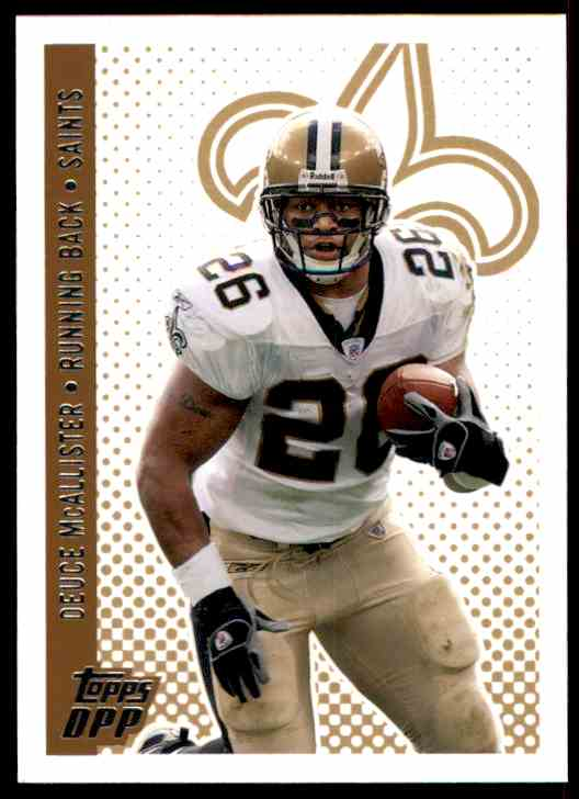 2006 Topps Draft Picks And Prospects Deuce McAllister #91 card front image