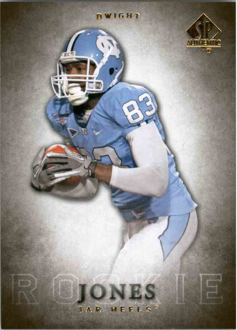 2012 SP Authentic Dwight Jones #121 card front image