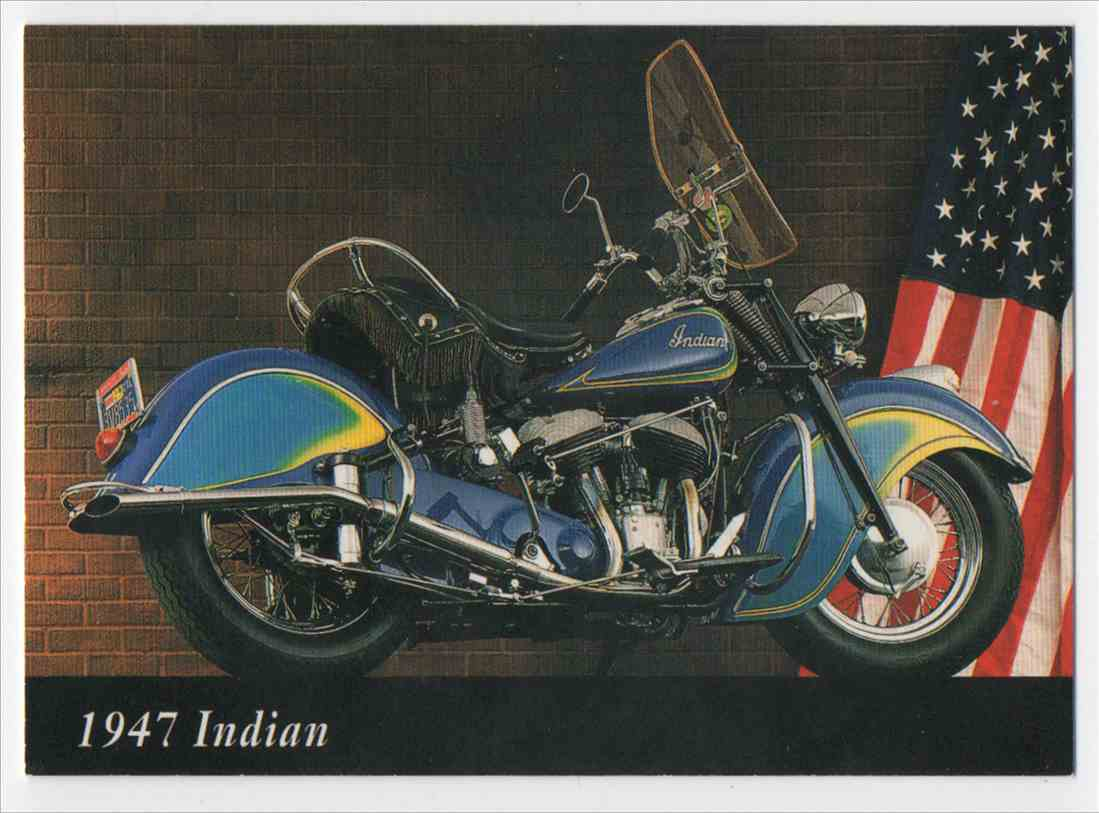 1993 InLine 1947 Indian #50 card front image
