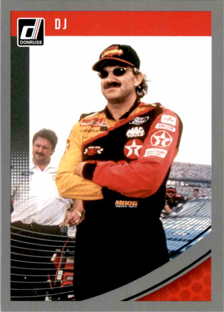 2019 Donruss Silver Dale Jarrett #69 card front image