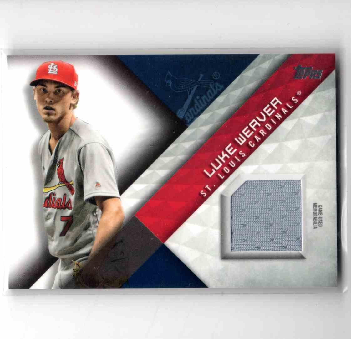 2018 Topps Major League Material Luke Weaver #MLM-LW card front image