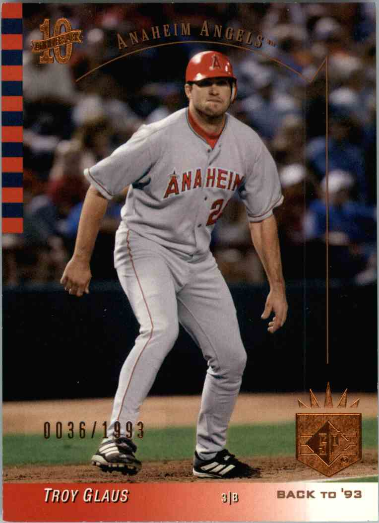 2003 SP Troy Glaus #124 card front image