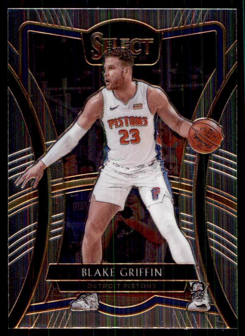 2019-20 Panini Select Blake Griffin #172 card front image