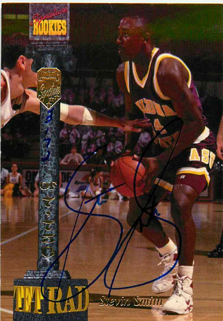 1994-95 Signature Rookies Stevin Smith #LXXV card front image