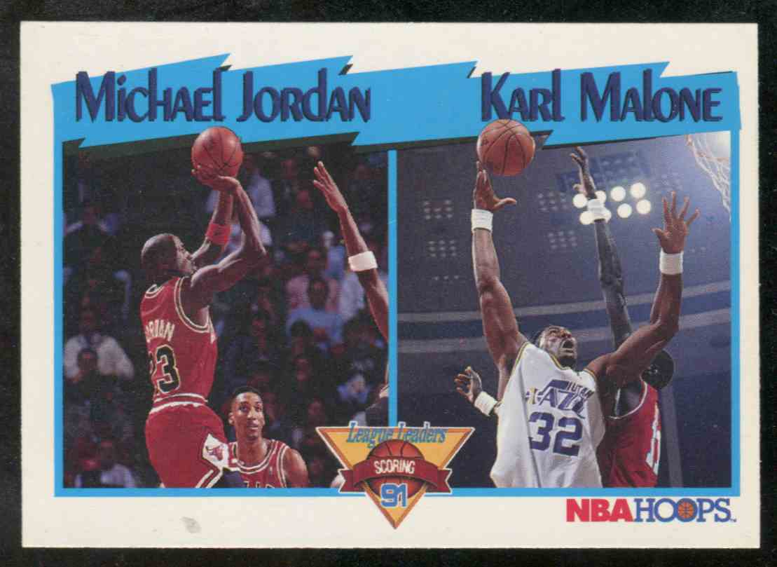 18 Michael Jordan Karl Malone trading cards for sale