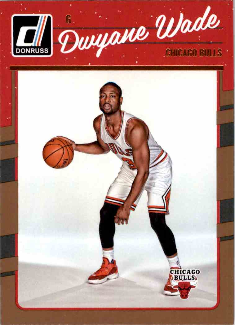 6 dwyane wade chicago bulls trading cards for sale