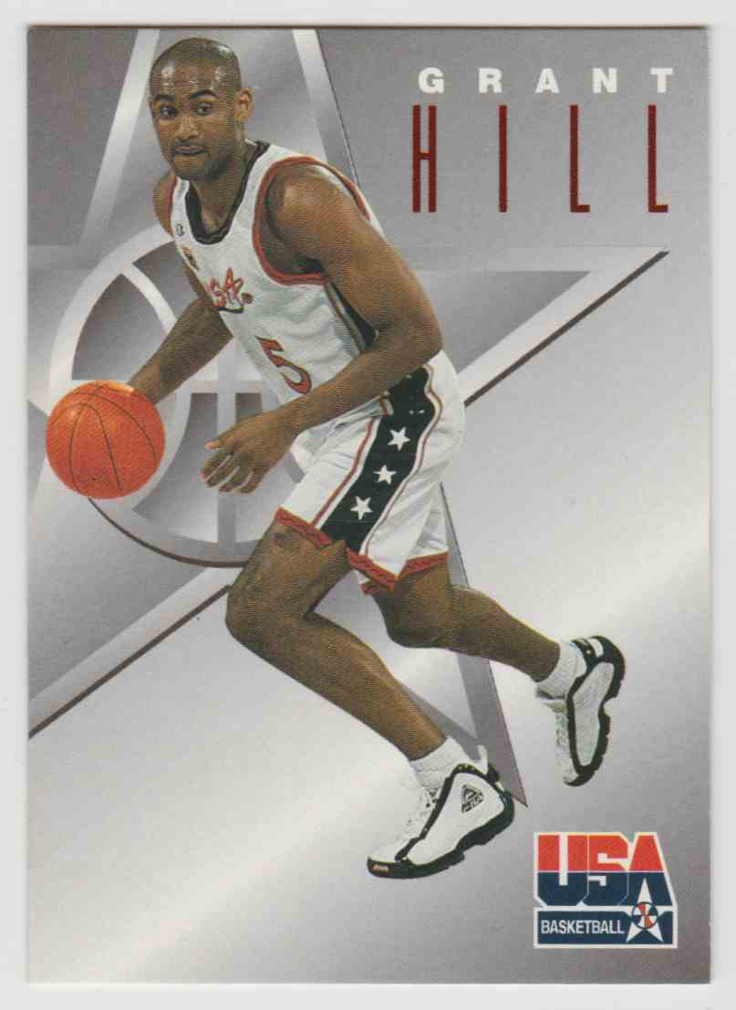 1996 97 Skybox Usa Texaco Grant Hill 3 On Kronozio