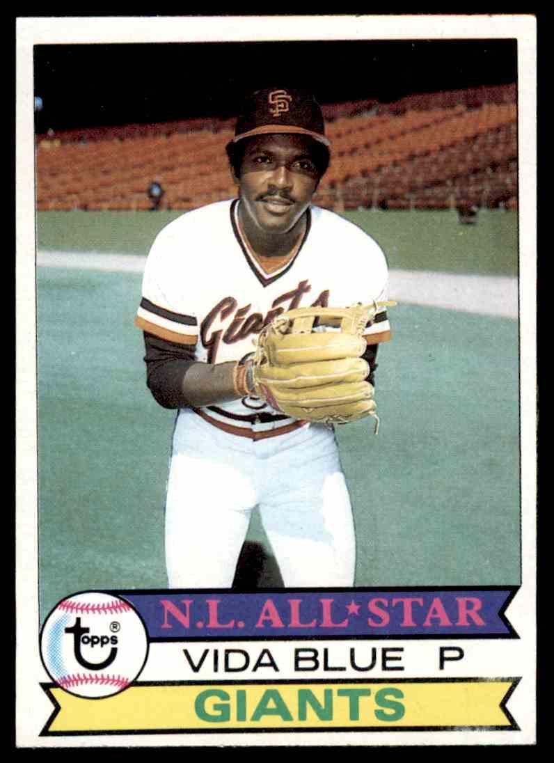 1979 Topps Baseball Set Break Vida Blue 110 On Kronozio