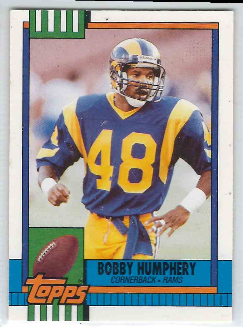 1990 Topps Traded Bobby Humphery #11T card front image