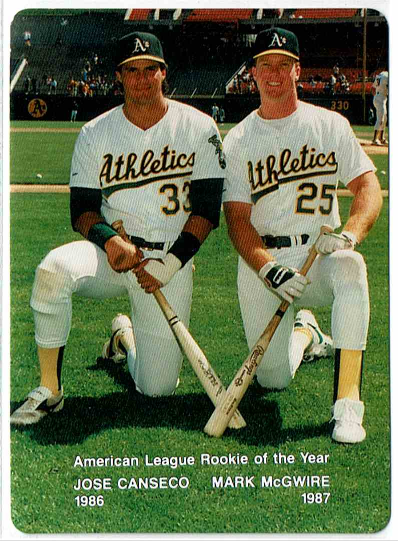 20 Mark Mcgwire Jose Canseco Trading Cards For Sale