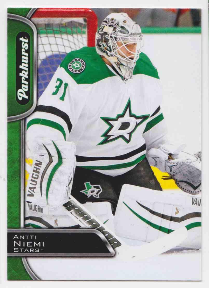 2016-17 Parkhurst Antti Niemi #108 card front image