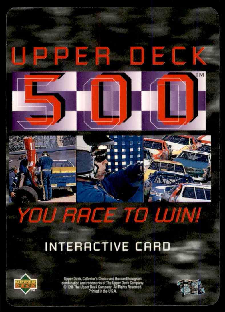 1996 Upper Deck Loy Allen #UD39 card back image