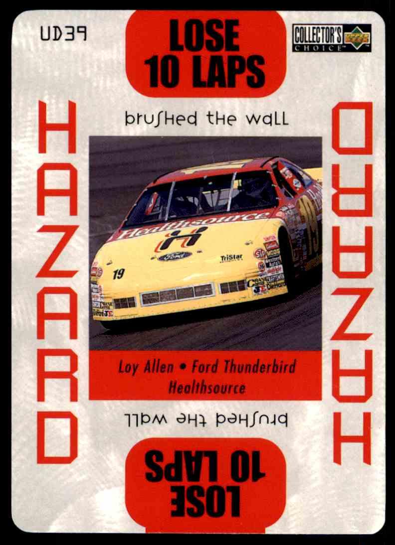 1996 Upper Deck Loy Allen #UD39 card front image
