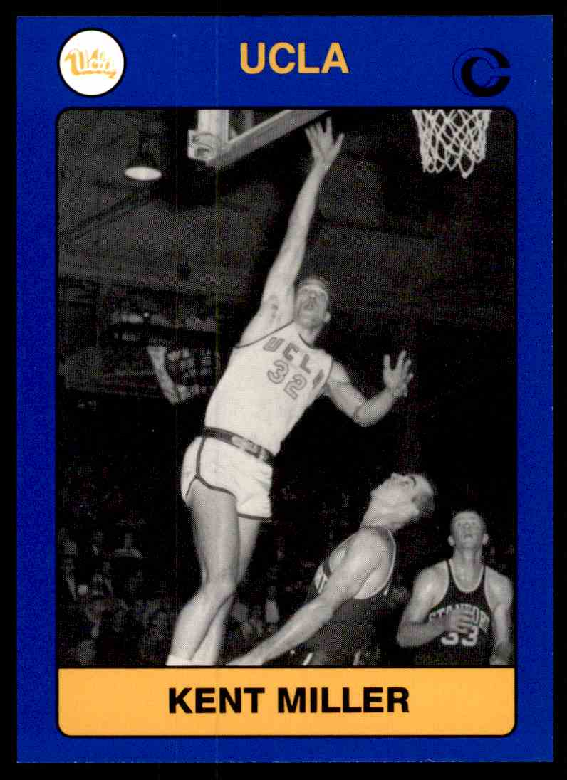1991-92 Tm Collegiate Collection Kent Miller #135 card front image