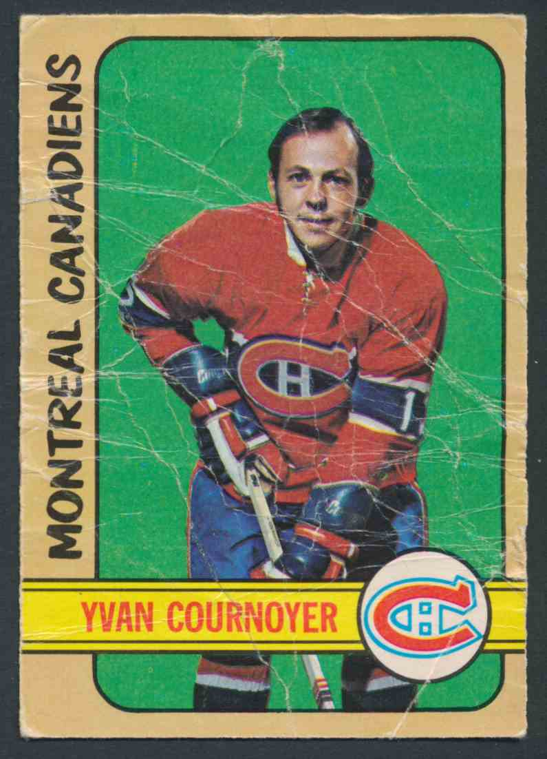 1972-73 O-Pee-Chee Yvan Cournoyer card front image