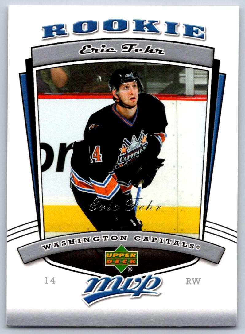2006-07 Upper Deck MVP Eric Fehr #333 card front image