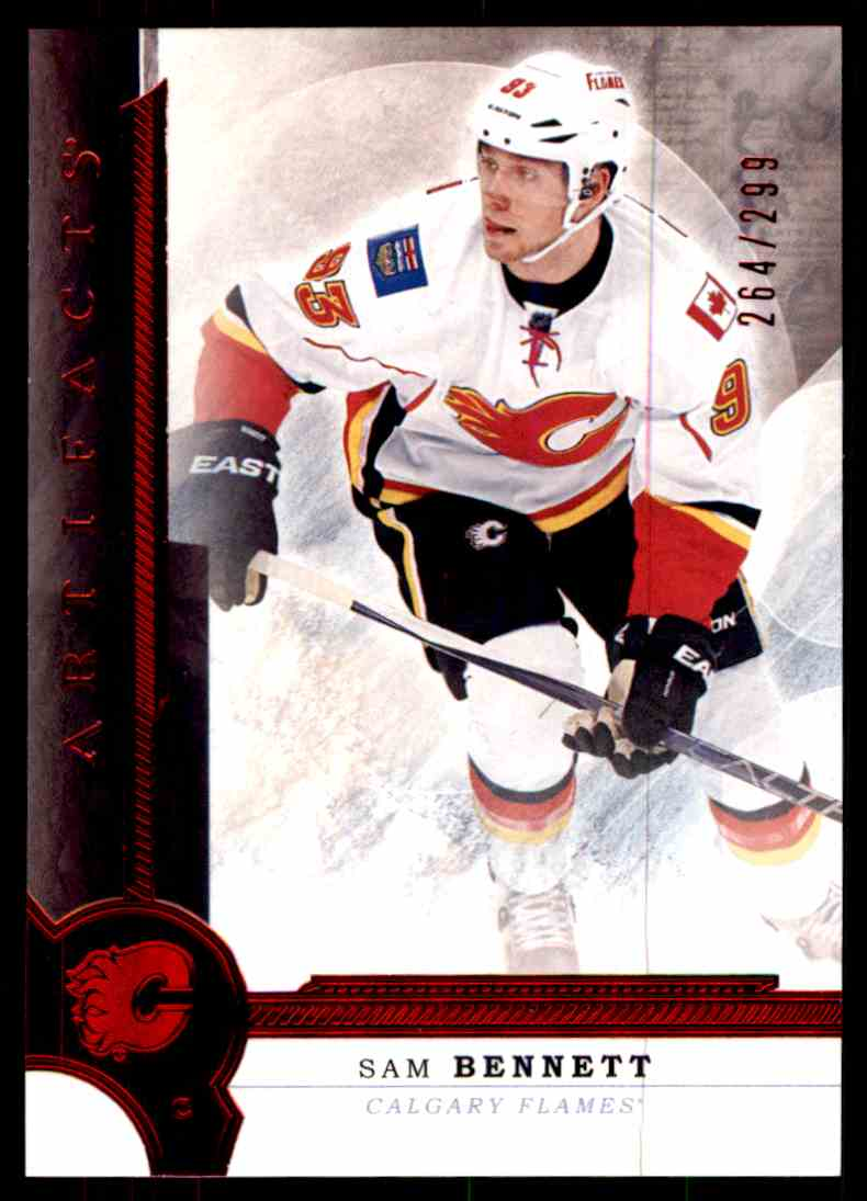 2016-17 Artifacts Ruby Sam Bennett #34 card front image