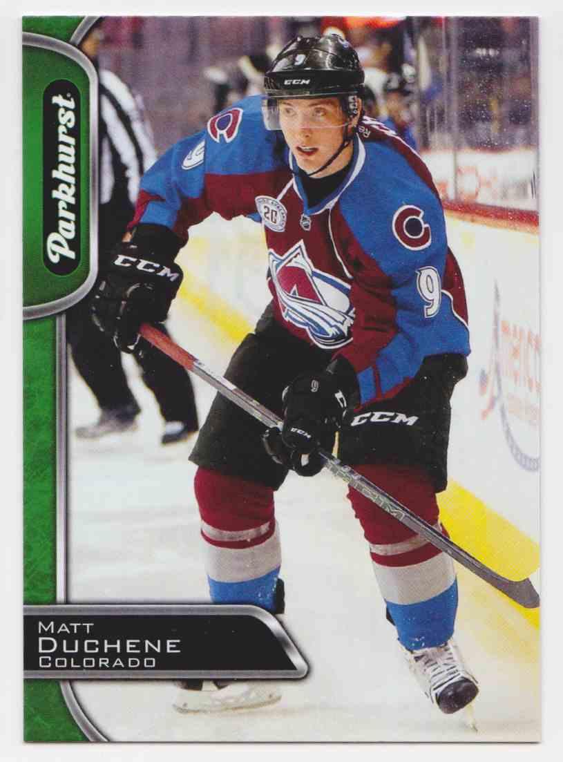 2016-17 Parkhurst Matt Duchene #78 card front image