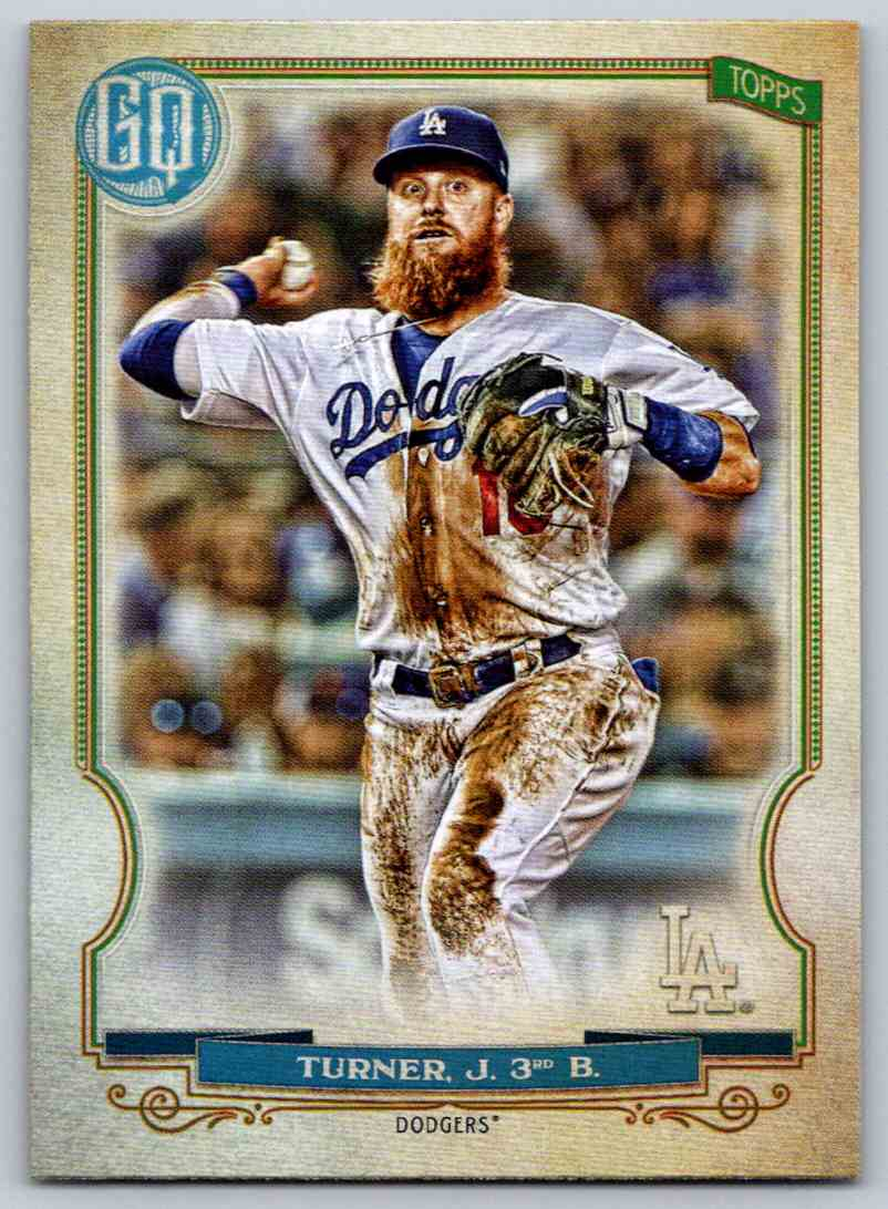 2020 Topps Gypsy Queen Base Justin Turner #92 card front image