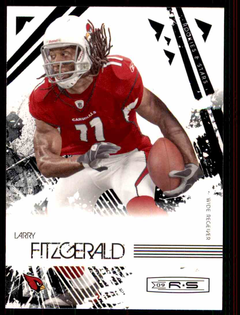 2009 Rookies & Stars Larry Fitzgerald #2 card front image
