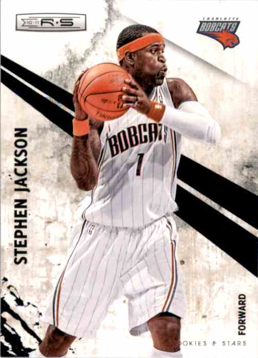 2010-11 Rookies And Stars Stephen Jackson #38 card front image